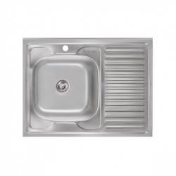 Кухонная мойка Imperial 6080-L (08) 180мм satin из нержавеющей стали