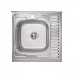 Кухонная мойка Imperial 6060-L (06) 160мм satin из нержавеющей стали на тумбу (9116)