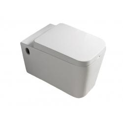 Унитаз белый NEWARC Aqua с сиденьем (9423W)