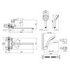 Смеситель для ванны Q-Tap Eco CRM 005 NEW (9608)