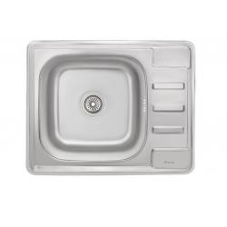 Кухонная Мойка Imperial 6350 Decor из нержавеющей стали (16321)