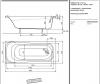 Ванна акриловая Kolo SENSA 160x70 XWP356000N