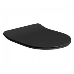 Сидение на унитаз AXA Glomp SLIM soft close matt black 319107