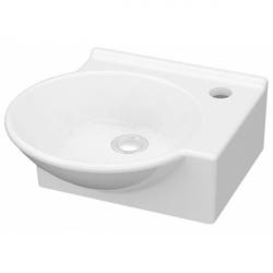 Умывальник IDEVIT Myra Mini белый накладной, правый (0201-0365)