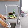 Смеситель для кухни GROHE Essence Foot Control (30311000)