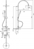 Душевая система Bianchi Style (ESDSTY2025E#CRM)