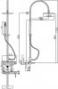 Душевая система Bianchi Termostatici ESDTRM203700 CRM