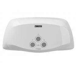 Водонагреватель электрический проточный Zanussi 3-logic (T 5,5 kW) - душ