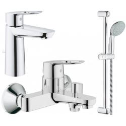 Набор смесителей для ванны Grohe BauLoop (123215M)