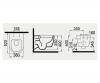 Подвесной унитаз без сидения с функцией биде IDEVIT Alfa Iderimless (3104-2615)