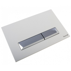 Клавиша смыва IMPRESE PAN Breclav White (i8245W)