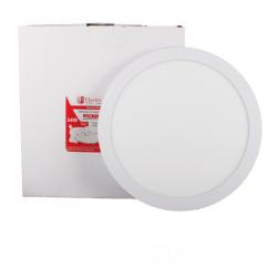 Светильник потолочный Electro House EH-LMP-1275 LED панель круглая 24вт 4100К Ø300мм 2160Lm