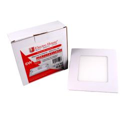 Светильник потолочный Electro House EH-LMP-3400 LED панель квадратная 6W 120х120мм