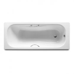 Ванна стальная Roca PRINCESS (A220270001) 170*75 см, белая с ручками