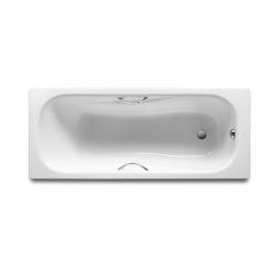 Ванна стальная Roca PRINCESS 170х75 см, белая A220270001+A291021000