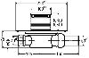 Душевой трап Viega Advantix горизонтальный D50 583217