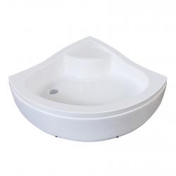 Поддон полукруглый Eger CSARDAS (599-512/2), white