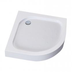 Поддон полукруглый Eger TISZA AMUR (599-021/2), white