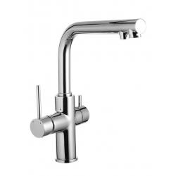 Смеситель  для кухни Imprese DAICY 55009-F две воды