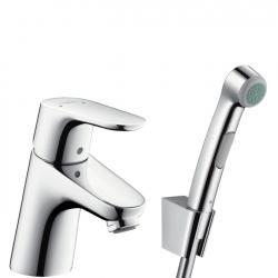 Смеситель для раковины с гигиеническим душем Hansgrohe FOCUS E2 (31926000)