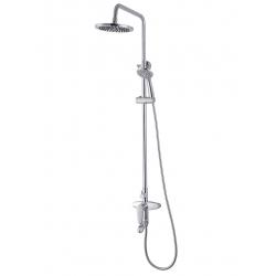 Система душевая Imprese WITOW T-10080  (смеситель для ванны, верхний и ручной душ 3 режима, шланг 1,5м)
