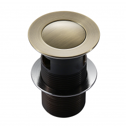 Донный клапан Imprese Pop-up PP280antiqua, бронза