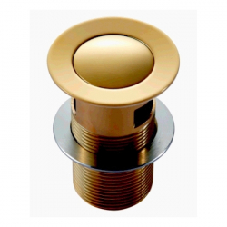 Донный клапан Imprese Pop-up, золото PP280zlato