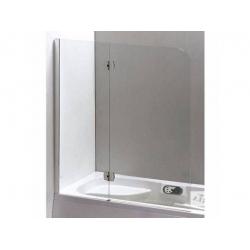 Шторка для ванн Eger хром 599-120CH/L