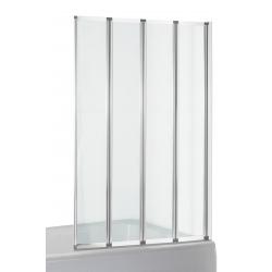 Шторка для ванн Eger (599 -110), хром