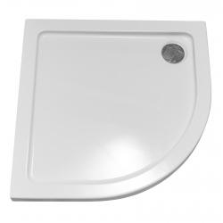Поддон полукруглый Eger TOKAI  599-07/2 white 5 см