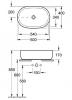 Умывальник VILLEROY & BOCH ARCHITECTURA 41266001, 600*400 мм, цвет белый Alpin
