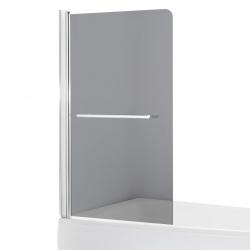 Шторка для ванн Eger (599-02L grey), хром
