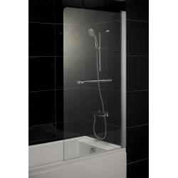 Шторка для ванн Eger (599-02R grey), хром