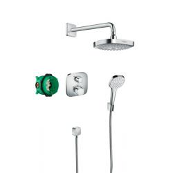 Душова система HANSGROHE ShowerSet Croma Select E/Ecostat E (27294000)