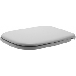 Сиденье с крышкой для унитаза DURAVIT D-CODE с функцией Soft Closing 0067390099