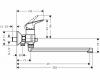 Смеситель для ванны HANSGROHE Logis Loop 71402000