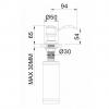 Дозатор для моющего средства IMPRESE PODZIMA LEDOVE (ZMK01170130)