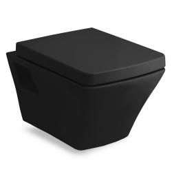 Унитаз подвесной VOLLE TEO (13-88-422black) с сиденьем slow-closing