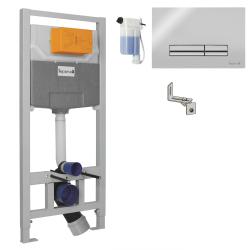 Инсталляция для унитаза IMPRESE (i9120OLIpure) (PANI хром)