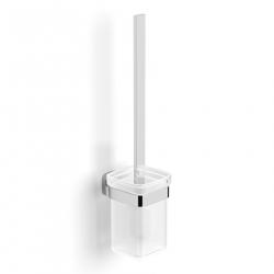 Ершик для унитаза VOLLE TEO (15-88-425) матовое стекло, крепление к стене
