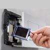 Система очистки воздуха DuoFresh Geberit с ручным срабатыванием и контейнером для картриджа DuoFresh для смывного бачка Sigma 12, хром 115.051.21.1