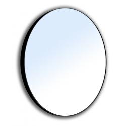 Зеркало для ванной комнаты VOLLE (16-06-905) 600мм на стальной крашенной раме, черного цвета