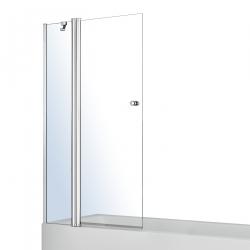 Шторка стеклянная для ванн VOLLE, хром 1200х1400 (10-11-101)
