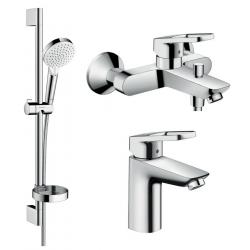 Набор смесителей для ванны HANSGROHE LOGIS LOOP (1062019)