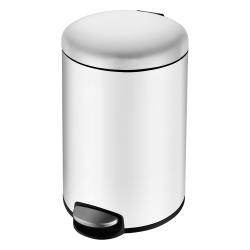Ведро для мусора VOLLE 8L белое (14-08-53W)