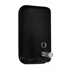 Дозатор для жидкого мыла EFOR черный 1л (377PS)