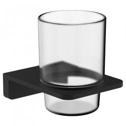 Стакан с держателем VOLLE DE LA NOCHE (10-40-0020-black) черный