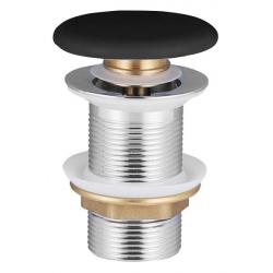 Донный клапан VOLLE c черной керамической крышкой (90-00-77Bl)