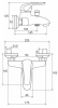 Душевой набор Q-Tap QT Set CRM 40-111