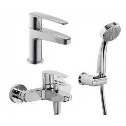 Набор смесителей для ванны TRES FLAT 002447